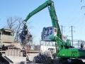 High Density Baler & Crane