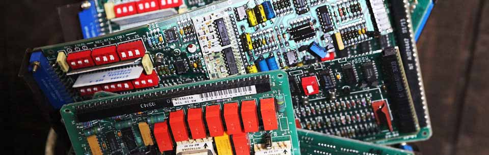 Example Computer and Electronic Scrap or E-Waste