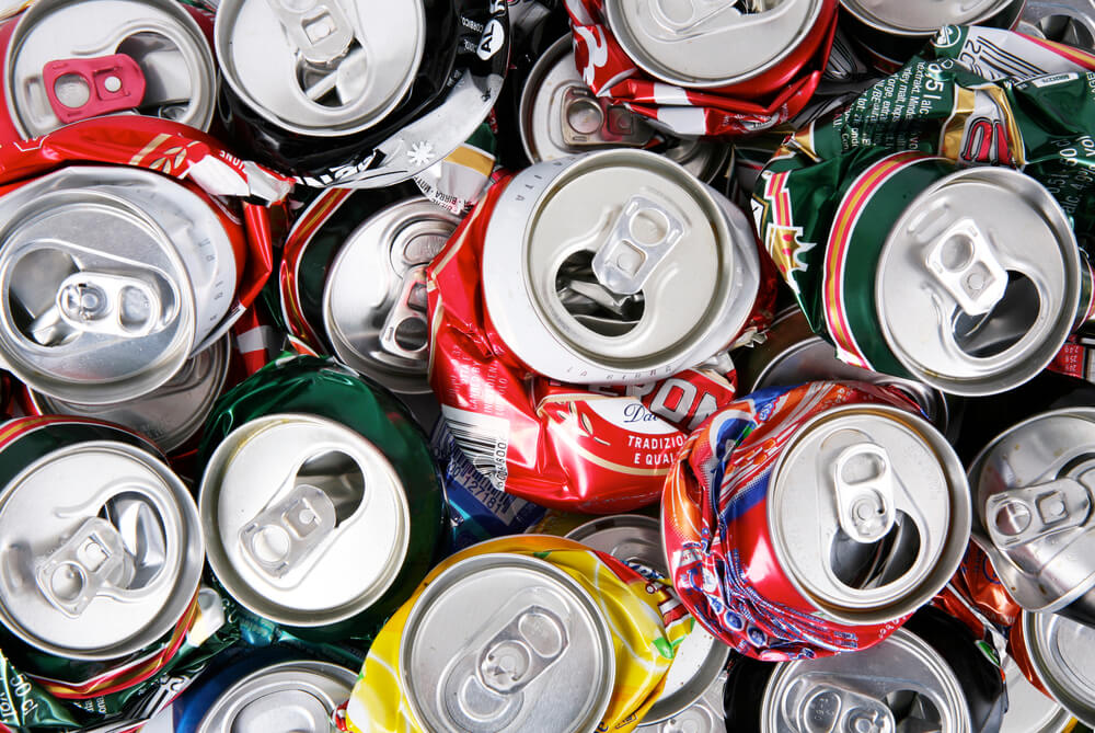 recycle scrap aluminum cans